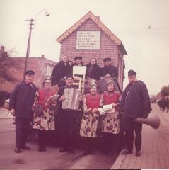 Berlaar, Huwelijksjubileum Fons Sleeckx en Mie De Ceuster, 1966